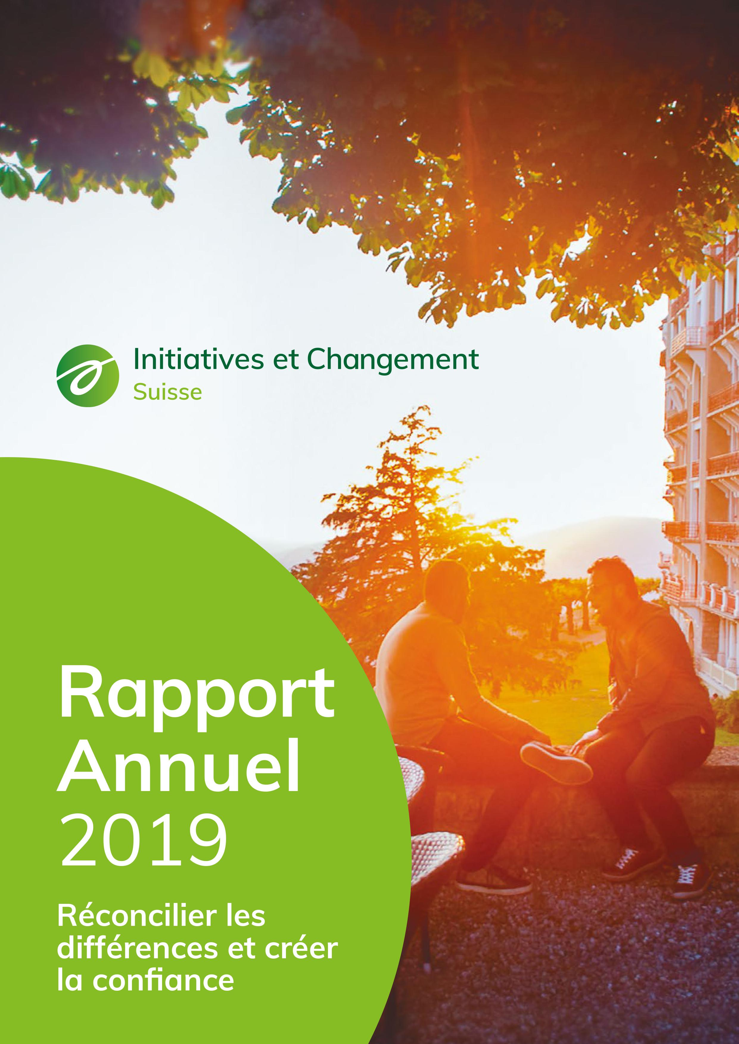 Annual Report 2019 FR cover