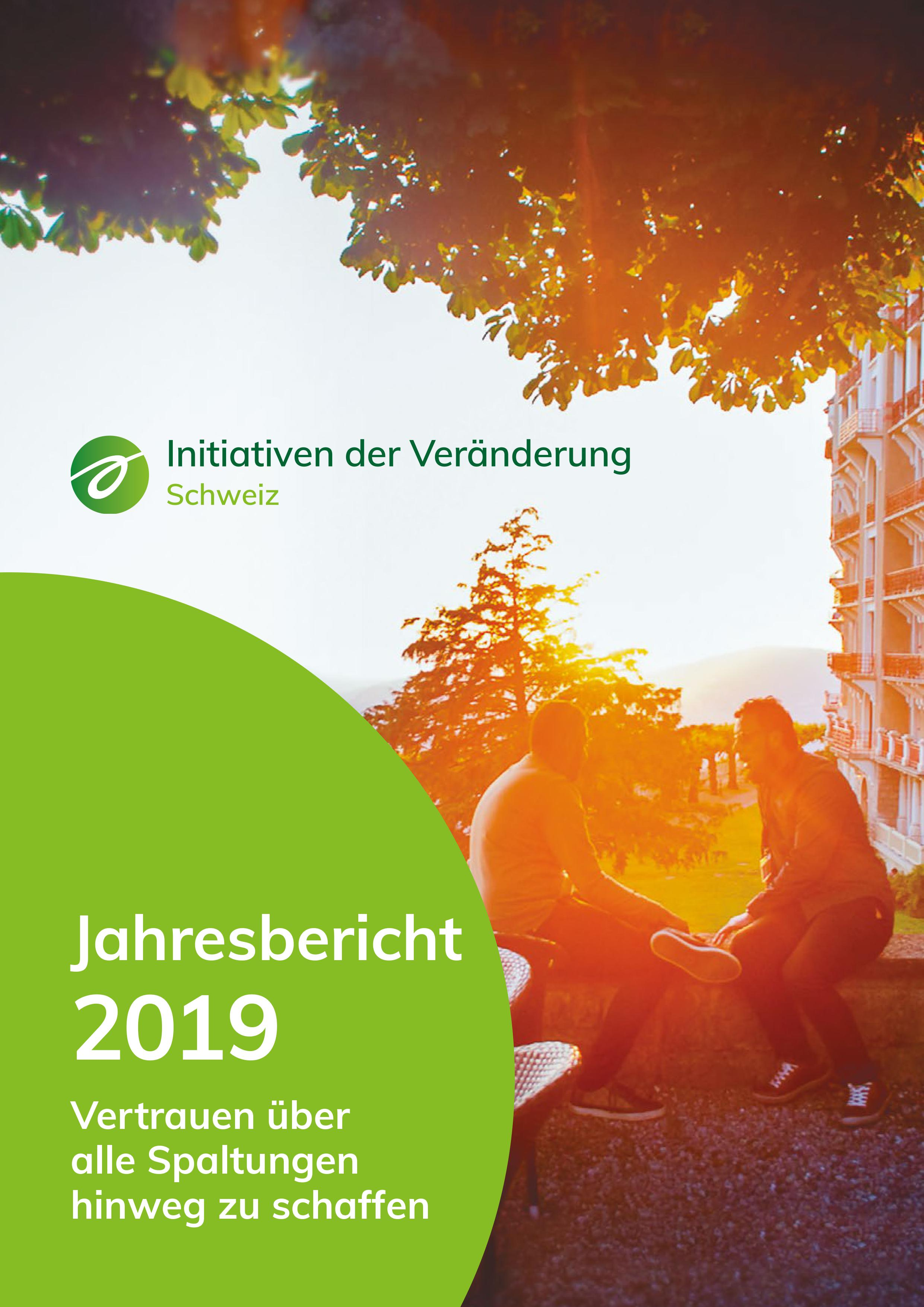 Annual Report 2019 DE cover