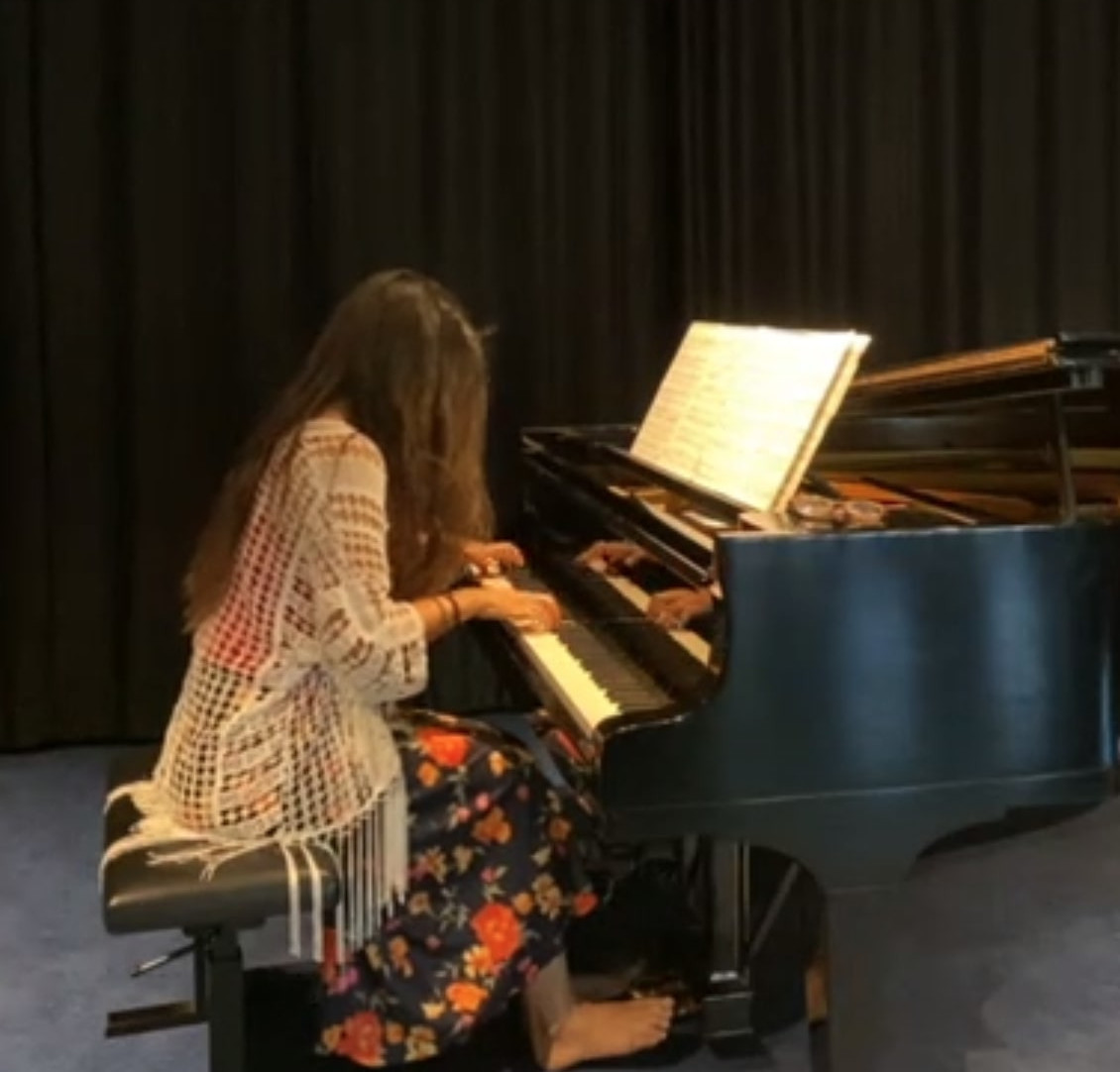 CL 2020 piano at the opening