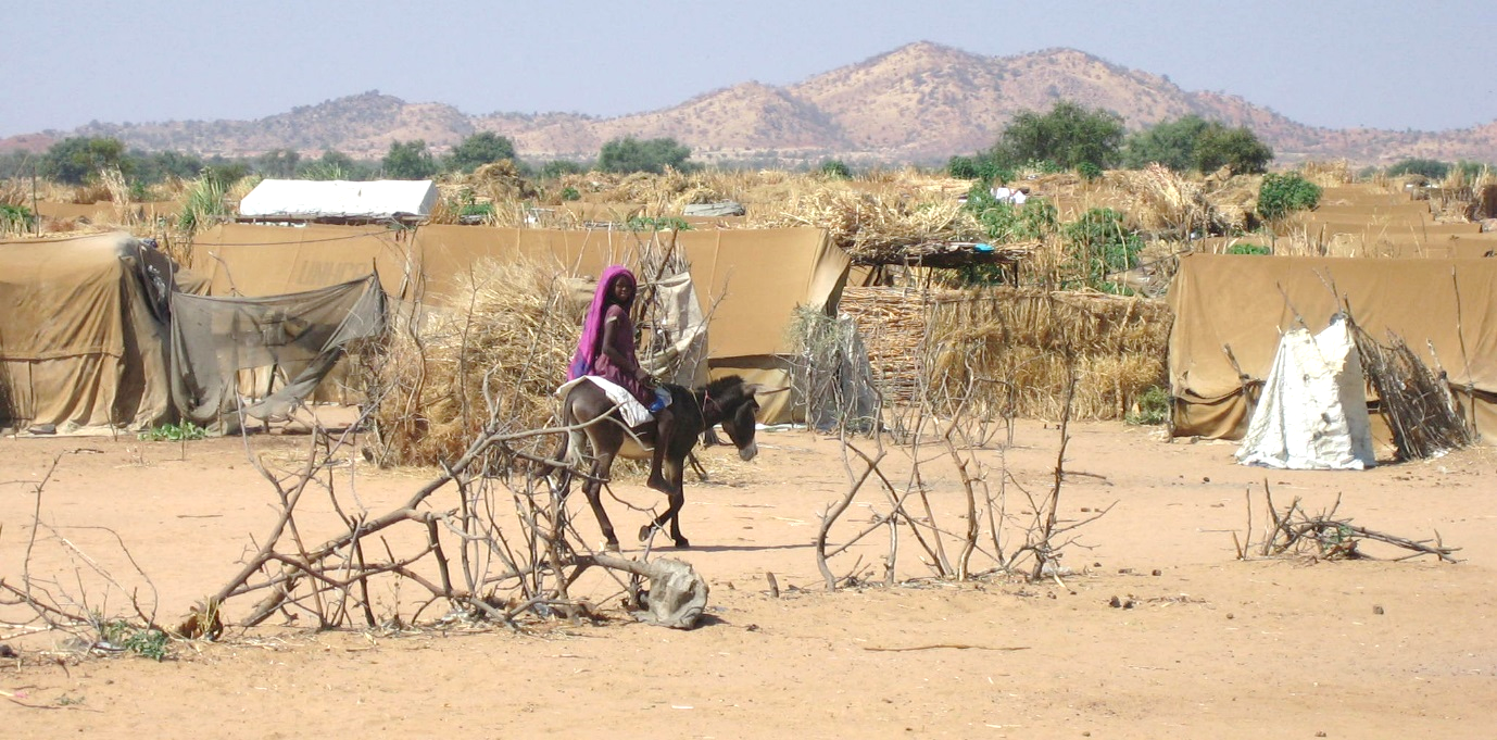 Darfuri refugee camp in eastern Chad – photo with kind permission on CORD UK