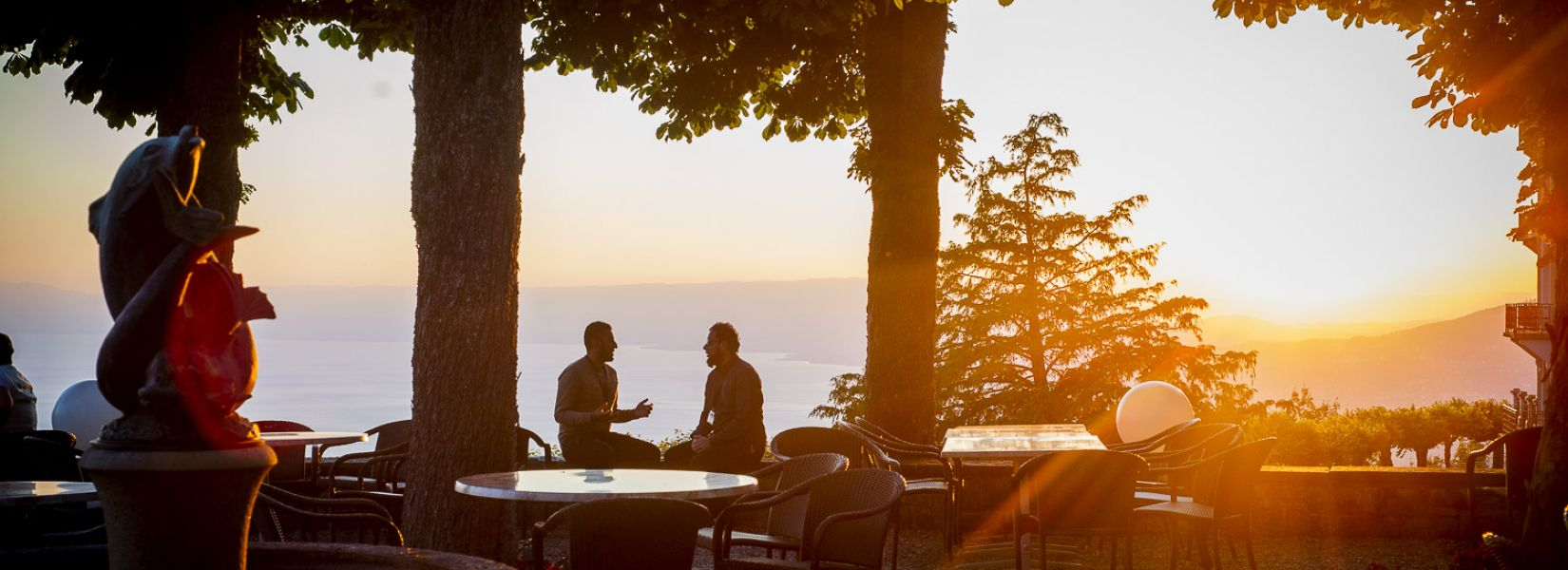 Caux Palace Terrace Sunset TIP 2019