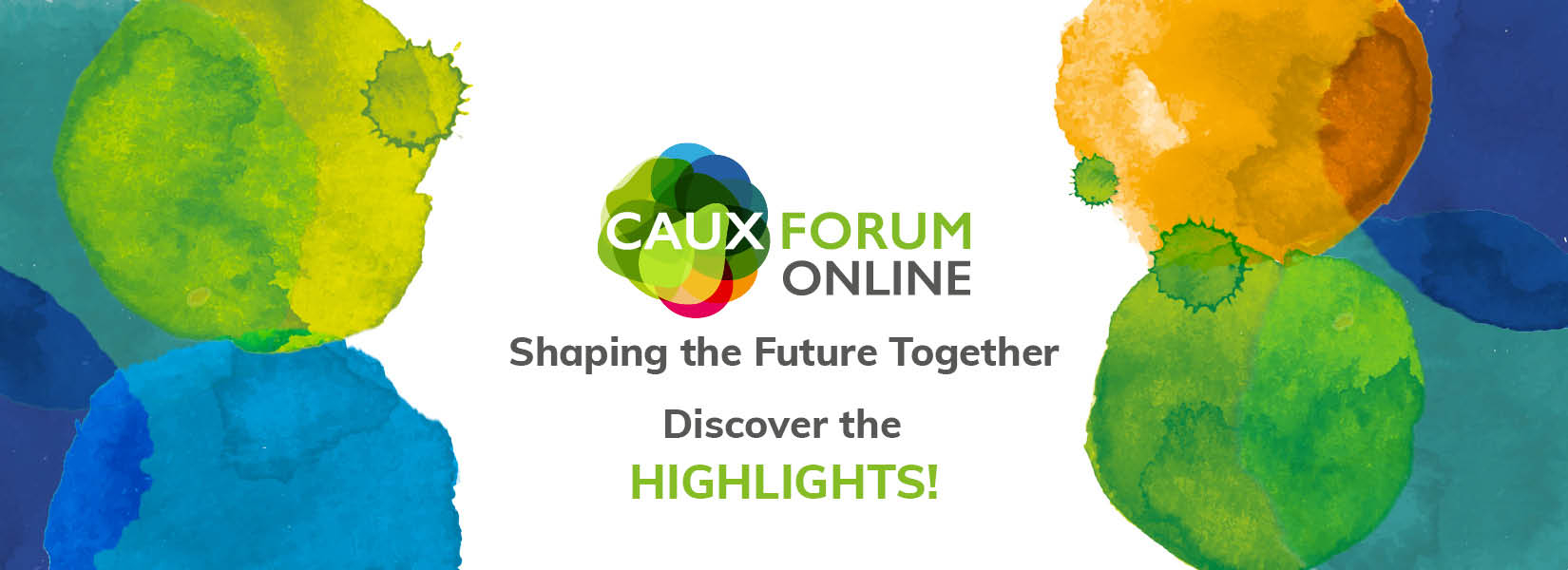 Caux Forum Discover the highlights 2020 EN