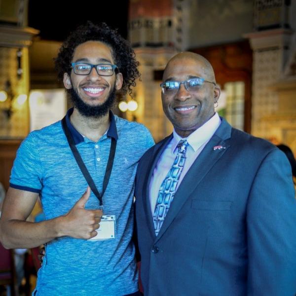Hasan Davis and son