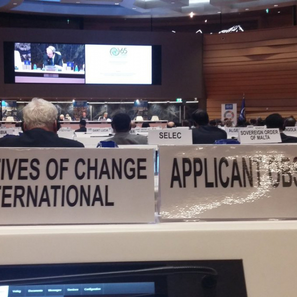 Geneva News: IofC International becomes Observer to IOM Council
