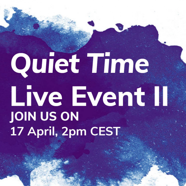 Quiet time live event