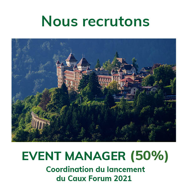 We are hiring event manager FR