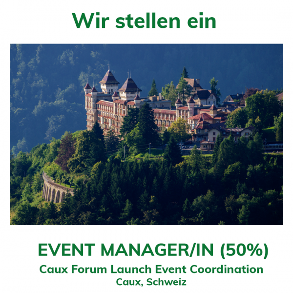 We are hiring Event Manager DE