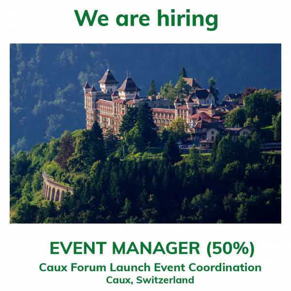 We are hiring Event Manager