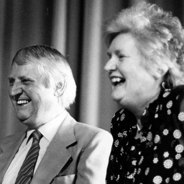 Heinz und Gisela Krieg 1981