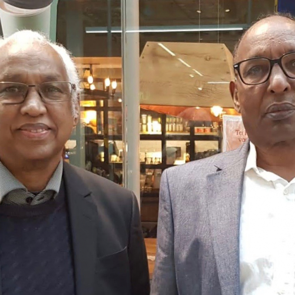 Ahmed Egal and Hassan Mohamud in Stockholm