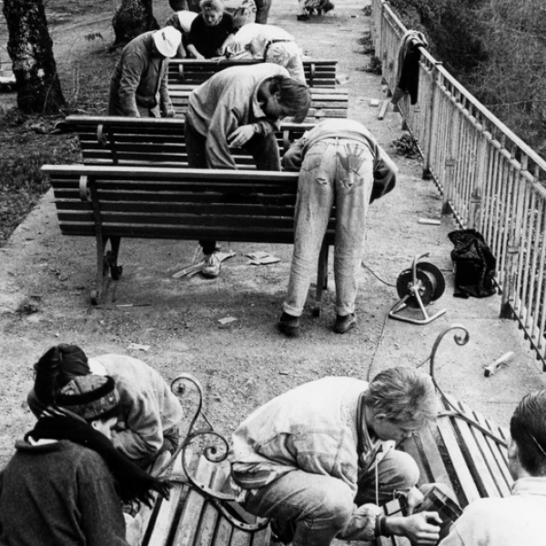 Benches Work Week 1986