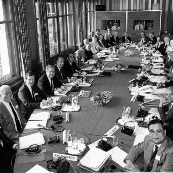 4th Caux Round Table Global Dialogues 1989