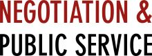Negotiation and Public Service logo